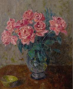 Лаховский А.Б. Натюрморт с розами