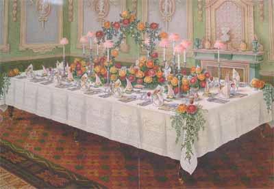 Обеденный стол а-ля Рюсс